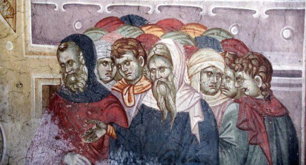 Фарисеи. Фрагмент фрески. Фото: foma.ru