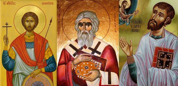 Мученик Валентин Доростольский. Священномученик Валентин епископ Итальянский. Священномученик Валентин Римлянин