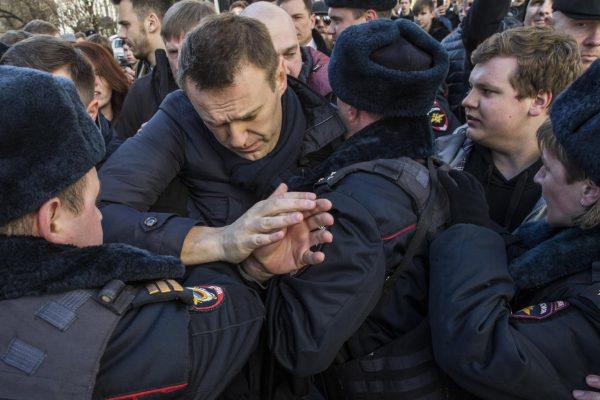 Организаторы воскресной акции протеста арестованы на сроки до 25 суток
