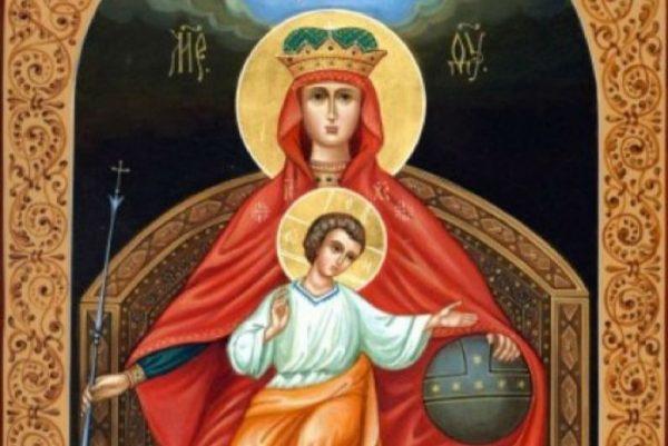 Церковь празднует память иконы Божией Матери «Державная»