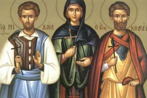 Церковь чтит память святых мучеников Кодрата Никомидийского, Саторина, Руфина и прочих