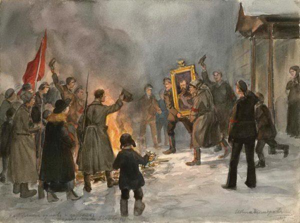 Русская катастрофа 1917 года: революция или красная смута? (+видео)