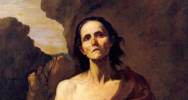 Художник Хосе де Рибера. Мария Египетская (фрагмент)