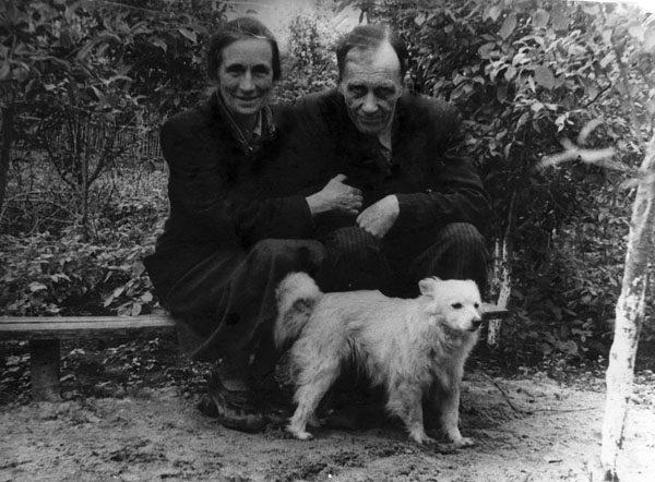 Сергей Фудель с женой