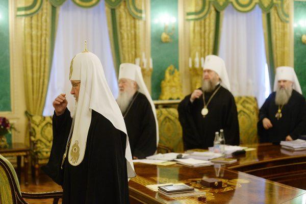 Журналы заседания Священного Синода от 9 марта 2017 года