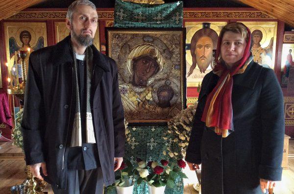 Протоиерей Иоанн Немеш и матушка Светлана