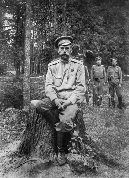 Николай ІІ вскоре после отречения. Март 1917