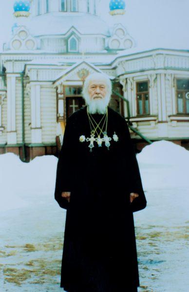 Протоиерей Виктор Шиповальников. Из архива А. В. Шиповальникова