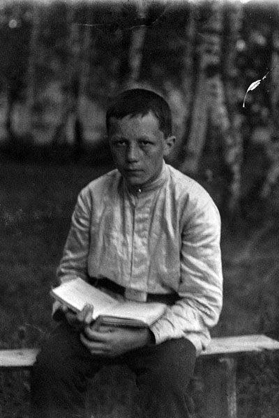 Сергей Фудель. 1909 г.