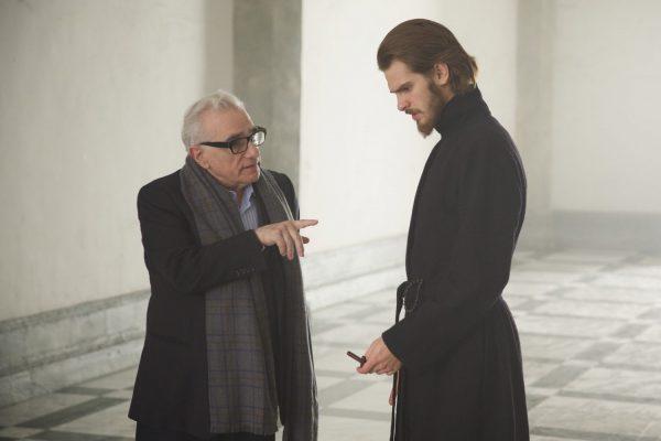 Мартин Скорсезе на съемках фильма молчание