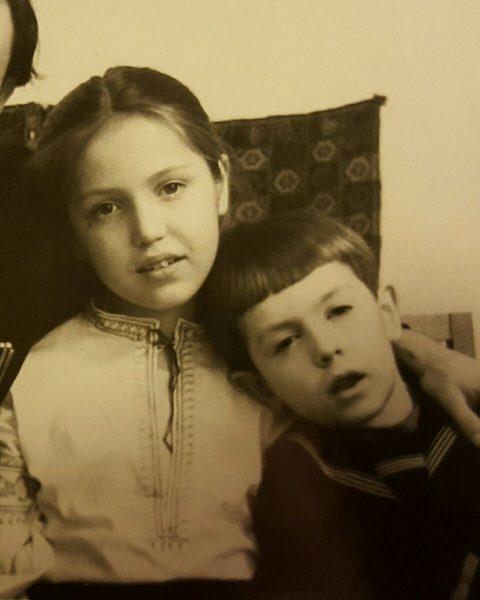 Алеша и Лиза. Из архива Елизаветы Викторовны Шиповальниковой