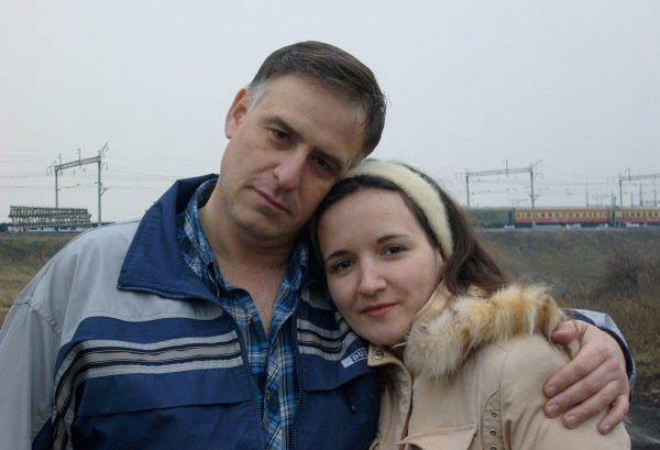 Родители Риты. (2007 год)