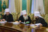 Патриарх возглавил заседание Священного Синода в Москве