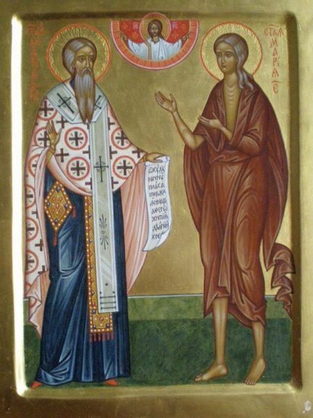 Святой Андрей Критский и преподобная Мария Египедская
