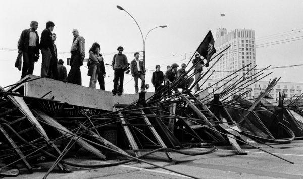1991 год, путч, баррикады