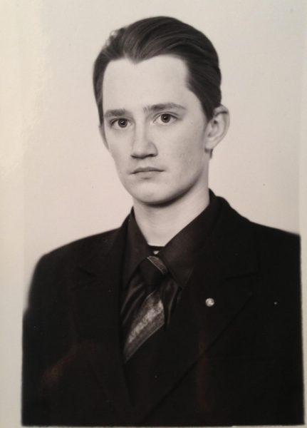 Отец Александр в юности