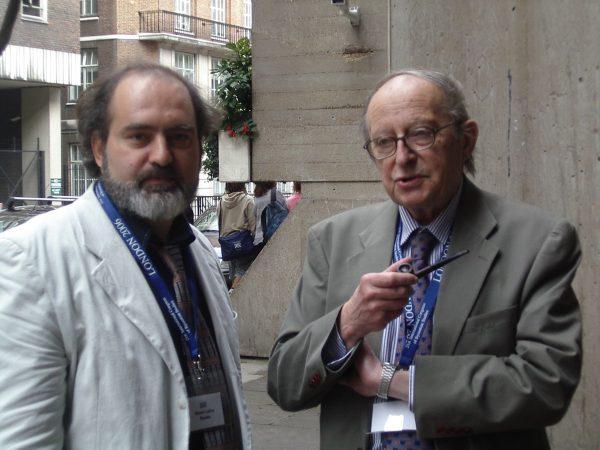 Фото с византологом профессором Кириллом Манго