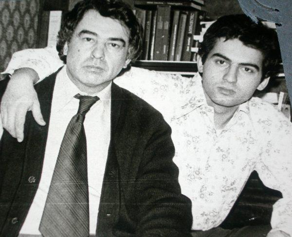 Алексей Лидов с отцом