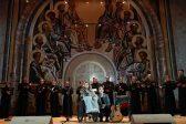 Юлия Самойлова выступила в Храме Христа Спасителя (видео)