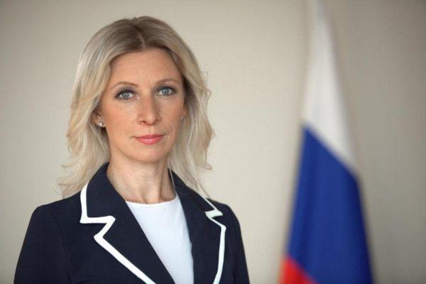 Мария Захарова войдет в делегацию по доставке Благодатного огня в Москву