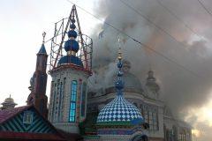 Мужчина погиб при пожаре в Храме всех религий в Казани