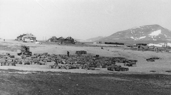 Общий вид села Новое Чаплино (1974)