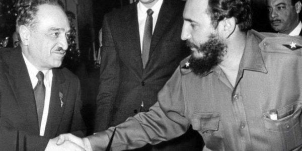 Микоян и Кастро