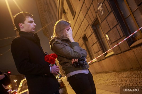 Санкт-Петербург, 3 апреля 2017 года. Фото: Владимир Андреев / URA.RU