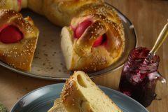 Пасхальный хлеб: 2 рецепта из Греции