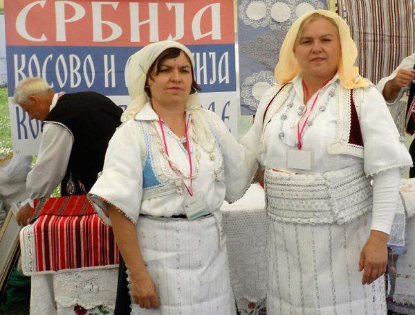 Верица Милошевич с сестрой Драгицей