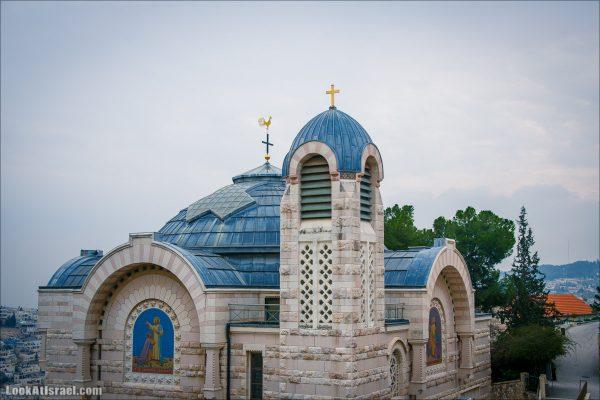 Храм в Галликанту и трагедия отречения Петра