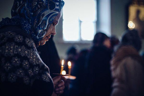 Великий четверг: церковные богослужения. Свеча