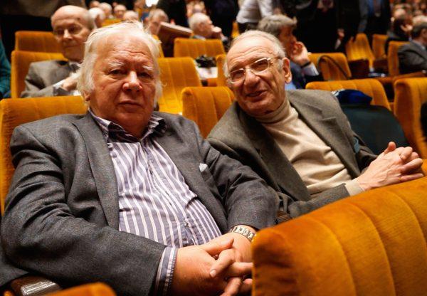 Владимир Захаров на общем собрании РАН