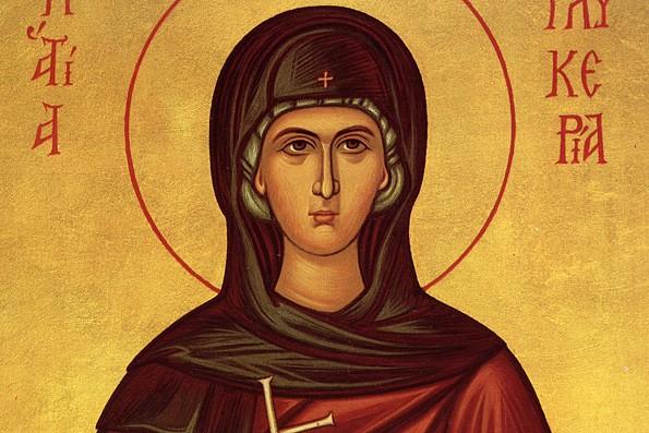 Церковь чтит память святой Гликерии Гераклейской