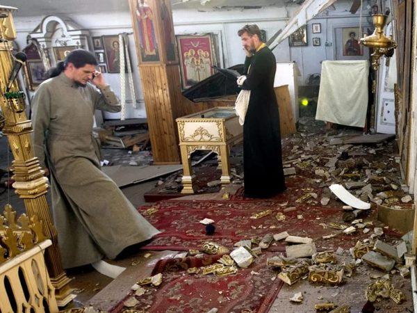 Храм УПЦ осквернен на западе Украины