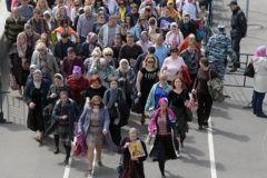 В день урагана мощи Николая Чудотворца посетили более 30 тысяч человек