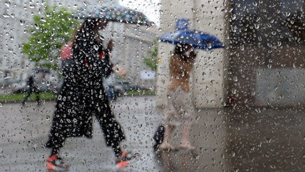 МЧС предупредило о надвигающейся на Москву буре