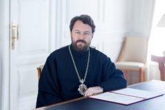 Митрополит Иларион презентует свою книгу «Притчи Иисуса» первого июня в Москве