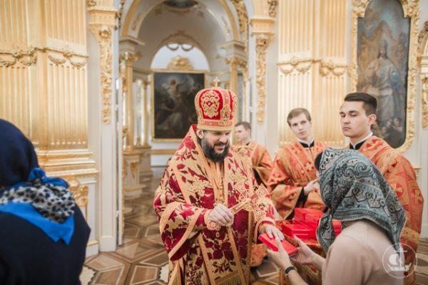 Вдомовом монастыре Эрмитажа впервый раз с1917 года совершена литургия архиерейским чином