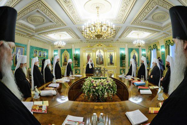 Журналы заседания Священного Синода от 4 мая 2017 года