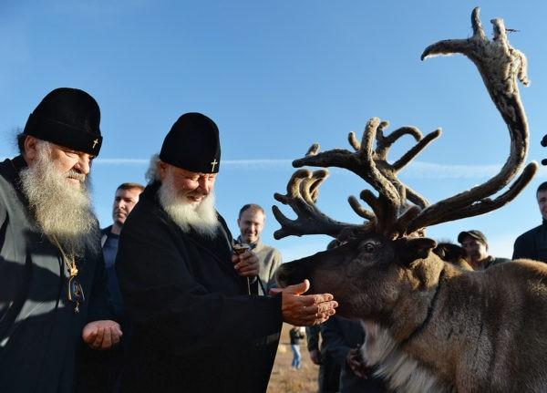 Год Патриарха: служение в фотографиях