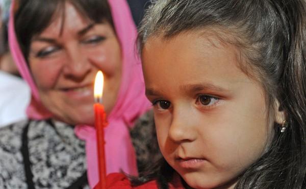 Пасхальное богослужение в Храме Христа Спасителя. Фото с сайта tvc.ru