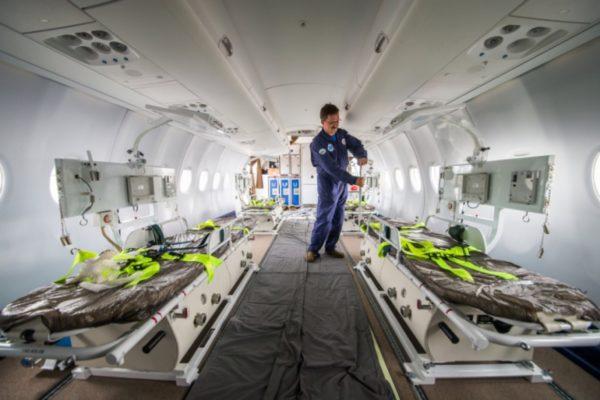 Как организовать авиаперевозку тяжелобольного человека