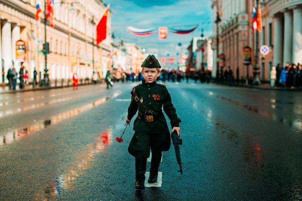 Что День Победы – праздник, наши дети уже поняли