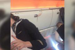 Московская студентка-медик оказала помощь травмированным пассажирам самолета Москва – Бангкок