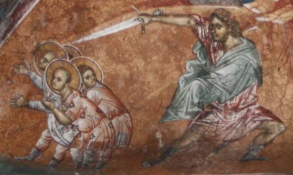 Церковь вспоминает Святых мучеников Лукиллиана, отроков Клавдия, Ипатия, Павла и Дионисия и Павлы девы