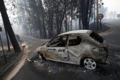 В Португалии – трехдневный траур по жертвам пожаров (видео, фото)