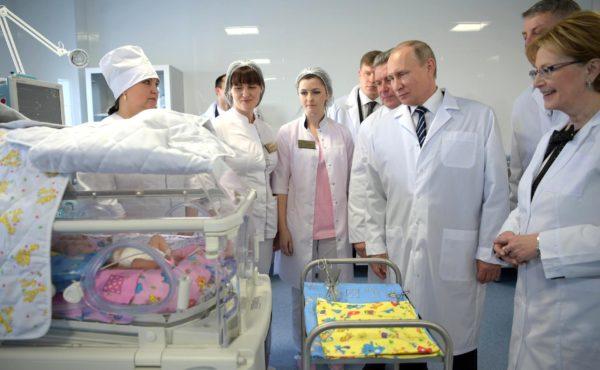 11 младенцев умерли в перинатальном центре Брянска, открытом Путиным в марте