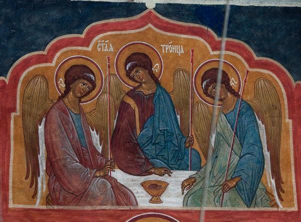 Церковь празднует День Святой Троицы