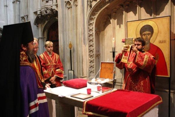 Протоиерей Георгий Завершинский: Святой Албаний сближает русских и англичан